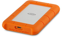 LaCie Rugged USB-C 4TB Orange