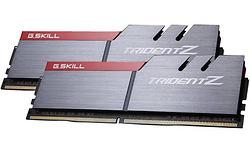 G.Skill Trident Z Silver/Red 32GB DDR4-3300 CL16 quad kit