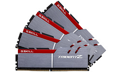 G.Skill Trident Z Silver/Red 32GB DDR4-3333 CL16-16-16-36 quad kit