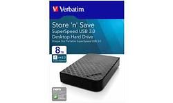 Verbatim Store 'n' Save 3.0 8TB Black