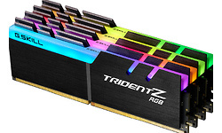 G.Skill Trident Z RGB 32GB DDR4-3200 CL14 quad kit