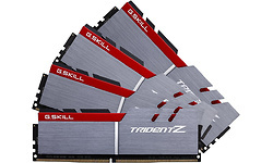 G.Skill Trident Z Silver/Red 64GB DDR4-3600 CL17 quad kit
