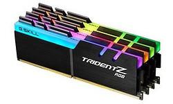 G.Skill Trident Z RGB 32GB DDR4-3000 CL16 quad kit