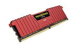 Corsair Vengeance LPX Red 32GB DDR4-4000 CL19 quad kit