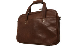 "HP Premium Leather Brown Case 14"" Brown"