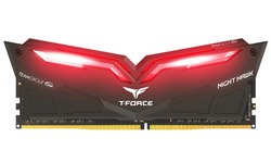 Team T-Force Nighthawk Red LED 32GB DDR4-3000 CL16 kit