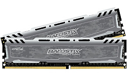 Crucial Ballistix Sport LT Grey 8GB DDR4-2666 CL16 kit