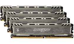 Crucial Ballistix Sport LT Grey 32GB DDR4-2666 CL16 DR quad kit