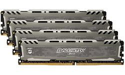 Crucial Ballistix Sport LT Grey 32GB DDR4-2666 CL16 DR quad kit
