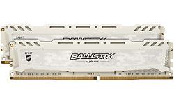 Crucial Ballistix Sport LT White 8GB DDR4-2666 CL16 kit