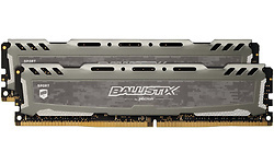 Crucial Ballistix Sport LT Grey 16GB DDR4-2666 CL16 SR kit