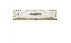Crucial Ballistix Sport LT White 8GB DDR4-2666 CL16 DR