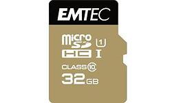 Emtec Gold+ MicroSD Class 10 32GB + Adapter