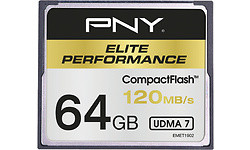 PNY Elite Performance Compact Flash 64GB