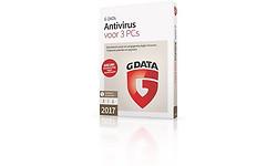 G Data AntiVirus 2017 3-user (NL)