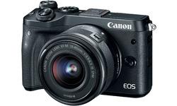 Canon Eos M6 15-45 IS STM Black