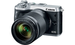 Canon Eos M6 18-150 kit Silver