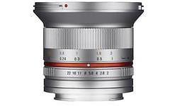 Samyang 12mm f/2.0 NCS CS Canon M Silver
