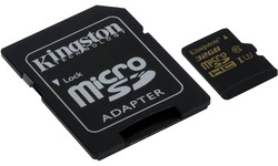 Kingston Gold MicroSDHC UHS-I U3 32GB + Adapter