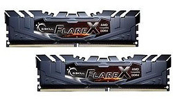 G.Skill Flare X Grey 16GB DDR4-2400 CL15 kit