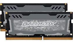Crucial Ballistix Sport LT Grey 32GB DDR4-2666 CL16 Sodimm