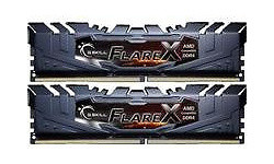 G.Skill Flare X Grey 16GB DDR4-2400 CL16 kit