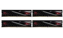 G.Skill Fortis Black/Red 64GB DDR4-2400 CL15 quad kit