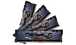 G.Skill Flare X Grey 32GB DDR4-2400 CL15 quad kit