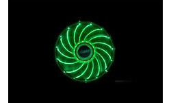 Akasa Vegas LED Green 120mm