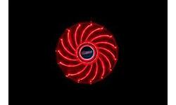 Akasa Vegas LED Red 120mm