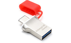 Integral Fusion 128GB Silver/Red
