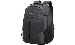 "Samsonite Rewind Backpack L Expandable 16"" Black"