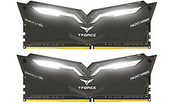 Team T-Force Night Hawk White LED 16GB DDR4-2666 CL15 kit