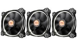Thermaltake Riing 120mm LED 3-Fan Pack Black