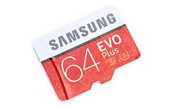 Samsung Evo+ V2 MicroSDXC UHS-I 64GB + Adapter