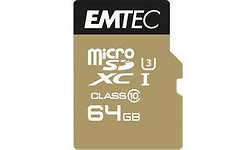 Emtec MicroSDXC Class 10 64GB + Adapter