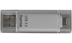 Hama FlashPen Save2Data 64GB Silver
