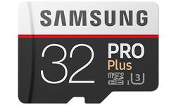Samsung Pro Plus MicroSDHC UHS-I 32GB + Adapter