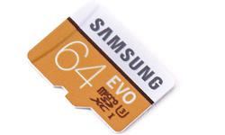 Samsung Evo MicroSDXC UHS-I U3 64GB
