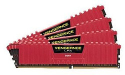 Corsair Vengeance LPX Red 32GB DDR4-3866 CL18 quad kit