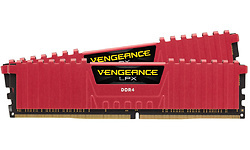 Corsair Vengeance LPX Red 16GB DDR4-4000 CL19 kit