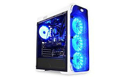 LC Power Gaming 988W Window Blue Typhoon Black/White