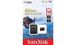 Sandisk Extreme MicroSDXC UHS-I 128GB + Adapter