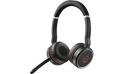 Jabra Evolve 75 UC Duo Black