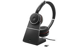 Jabra Evolve 75 UC Duo Black + Charger