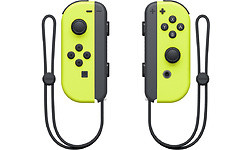 Nintendo Switch Neon Yellow Joy-Con Controller Set