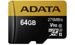 Adata Premier One V90 MicroSDXC UHS-II 64GB + Adapter