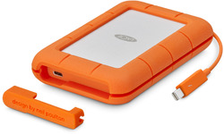 LaCie Rugged Thunderbolt USB-C 1TB Orange