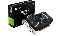 MSI GeForce GTX 1050 Ti Aero ITX OC V1 4GB