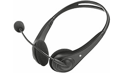 Trust InSonic Chat Headset Black